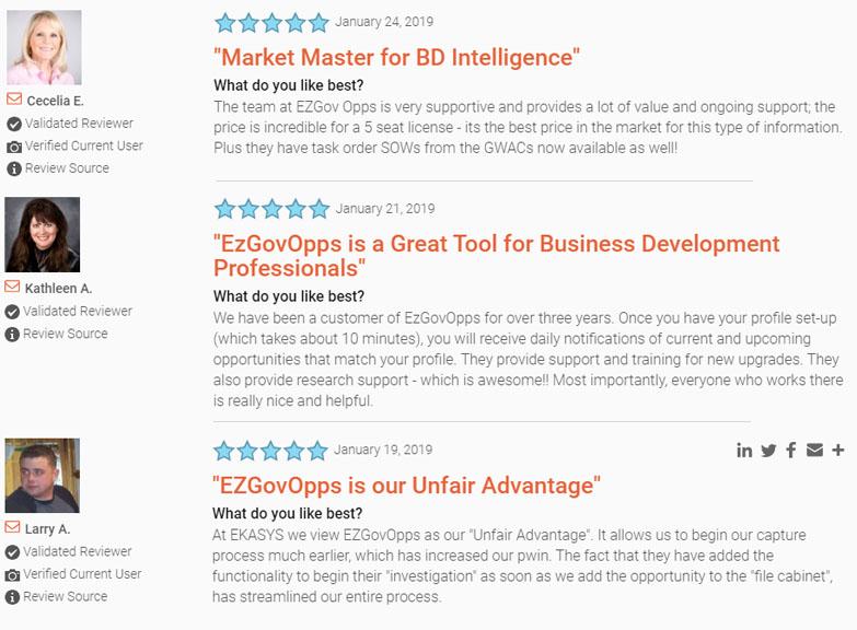 EZGovOpps Reviews
