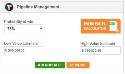 screenshot of EZ add to pipeline art